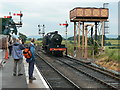 ST1628 : Loco number 88 about to take on water, WSR Bishops Lydeard by Brian Robert Marshall