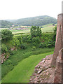 SO5719 : View from Goodrich Castle by Pauline E