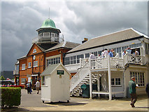 TQ0762 : The Club House Brooklands by Tony Grant
