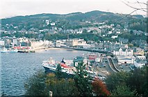 NM8529 : Oban: view from Pulpit Hill by Chris Downer