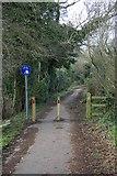 TG2105 : Marston Lane, Tuckswood by Katy Walters