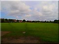 NZ2168 : Kingston Park fields by Newbiggin Hall Scouts