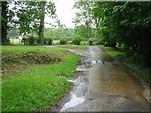 TR1955 : Old Palace Road, Bekesbourne by Nick Smith