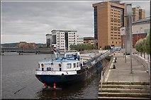 "J3474 : The ""Confiance"", Belfast (1) by Albert Bridge"