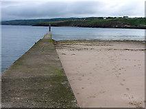 SC2484 : Peel Harbour, inner breakwater by Chris Gunns