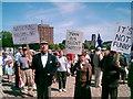 SJ3489 : Protest by alan fairweather