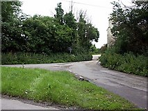 SW8635 : No through road to Lanhay by Fred James