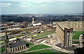 SK3687 : View from Hyde Park Flats, 1980 by Pierre Terre