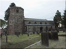 SJ9743 : All Saints church, Dilhorne by Jerry Evans