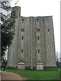 TL7835 : Castle Hedingham, Essex by Nick Barker