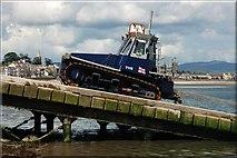 J3729 : Launching Newcastle lifeboat (7 of 7) by Albert Bridge