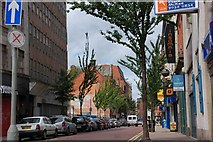 J3374 : Lower North Street, Belfast by Albert Bridge
