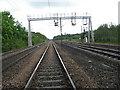 NZ3032 : Rail Line by Donald Brydon