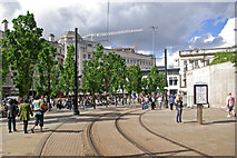 SJ8498 : Piccadilly Gardens, Manchester by Stephen McKay