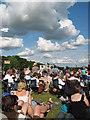 SP3517 : Crowds at the Cornbury Music Festival by Pauline E
