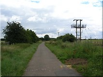 SE4148 : Alongside the racecourse by DS Pugh