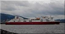 J3778 : Mersey Viking departs Belfast by Rossographer