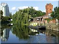 SK5806 : The Waterside Centre, River Soar by Roger Hutchinson