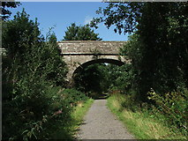 NY6753 : Railway bridge over the South Tyne Railway by Nick Barker