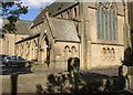SE1325 : Detail of the former Congregational Church, Hipperholme by Humphrey Bolton