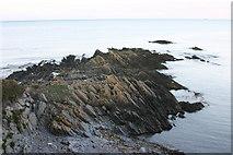 O2755 : Jagged Rocks by Mark Duncan