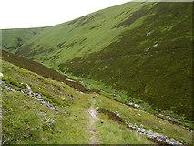 NN8475 : Stalker's path above the Allt Sheicheachan. by bill copland