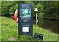 NU2405 : Hermitage Warkworth by Joan Robinson