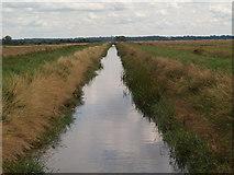 SE9914 : Bonby Land Drain by David Wright