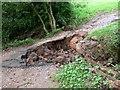 SO8078 : Flood damage by Mat Fascione