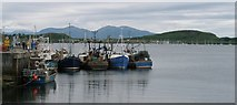 NM8529 : Quayside and bay by Garry Smales