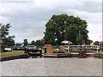 SJ7758 : 2002 : Lock 57 - Trent & Mersey Canal by Maurice Pullin