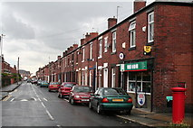SD8912 : Ashfield Road, Rochdale, looking southwest by Dr Neil Clifton