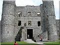 SH5831 : Harlech Castle by John Lucas