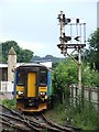 SK9770 : Railway Station, Lincoln by Dave Hitchborne