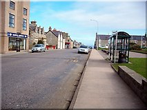 NJ2371 : Queen Street Lossiemouth by Paul J Goodhall
