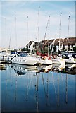 SU4208 : Hythe: yachts in the marina by Chris Downer