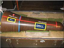 TA3622 : Nuclear warhead - RAF Holmpton underground bunker by Michael King