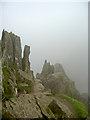 NY3414 : Striding Edge by Ian Greig