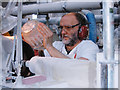 S5910 : Waterford Crystal factory - Glass engraver by Jim Woodward-Nutt