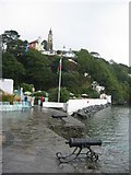 SH5837 : Portmeirion, from the hotel quayside by Keith Burroughs