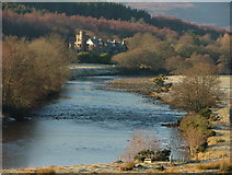 NH5292 : River Carron and Gruinards Lodge by Steven Brown