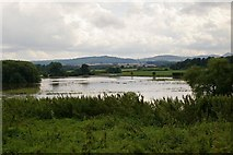SJ5608 : Flooding in Wroxeter by Peter Craine