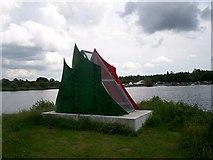 J0561 : Navigation beacon at Kinnego Marina by P Flannagan