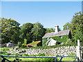 SH7720 : Ivy-clad Cae Gwyn cottage by Eric Jones