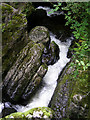 NY3139 : Falls close to the Howk by mauldy
