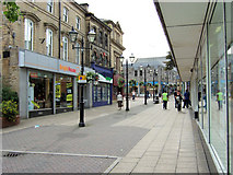 SE0641 : Keighley - Low Street, shops by David Ward