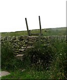 SD7942 : Stile on Pendle Hill by Andrew Tatlow