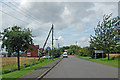 SE8316 : Entering Luddington by David Wright