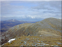NH2171 : Approaching Beinn Liath Mhor Fannaich from the south west by Nigel Brown