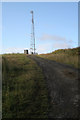 NY7286 : Aerial Mast at Stannersburn by Peter McDermott